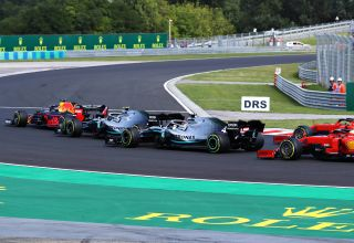 Verstappen leads Mercedes and Ferrari Hungarian GP F1 2019 Photo Red Bull