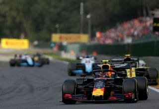 Alexander Albon Red Bull RB15 Belgian GP F1 2019 Photo Red Bull