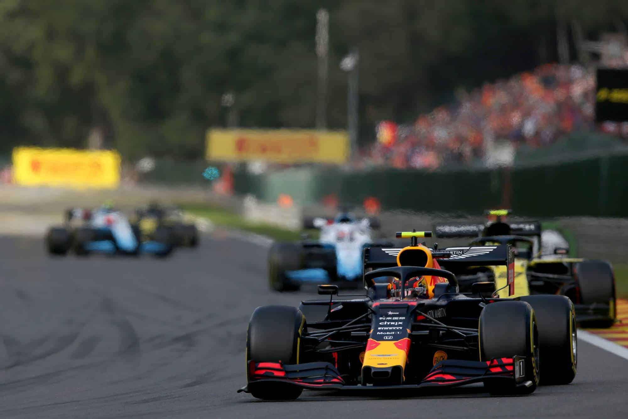 Alexander Albon Red Bull RB15 Belgian GP F1 2019 Photo Red Bull