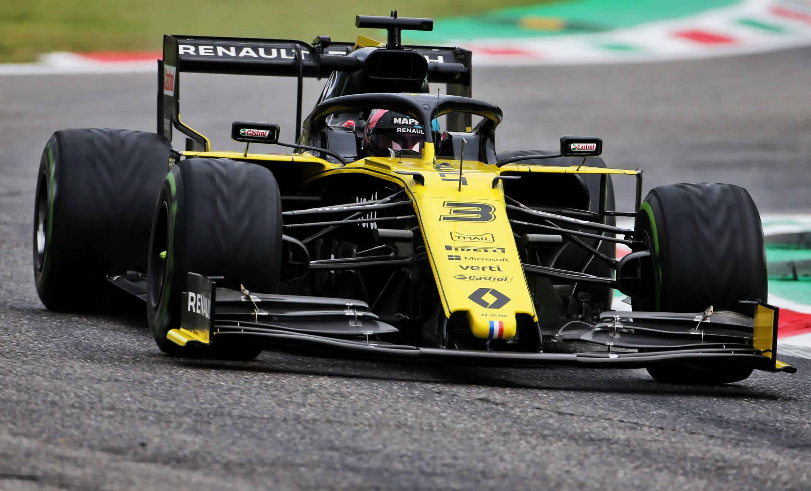 Daniel Ricciardo Renault RS19 Italian GP F1 2019 Photo Renault