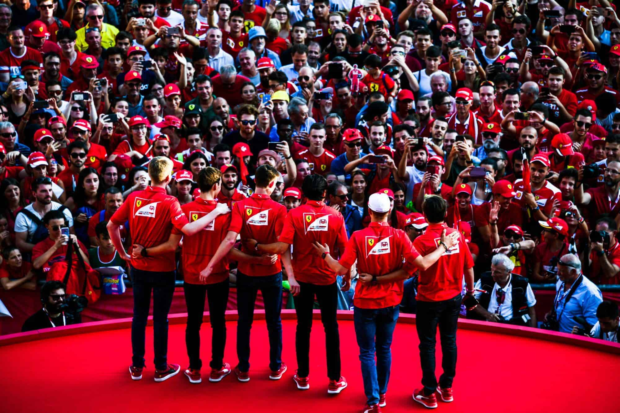 Ferrari 90th Anniversary celebration in Milan 04 September 2019 F1 team Photo Ferrari