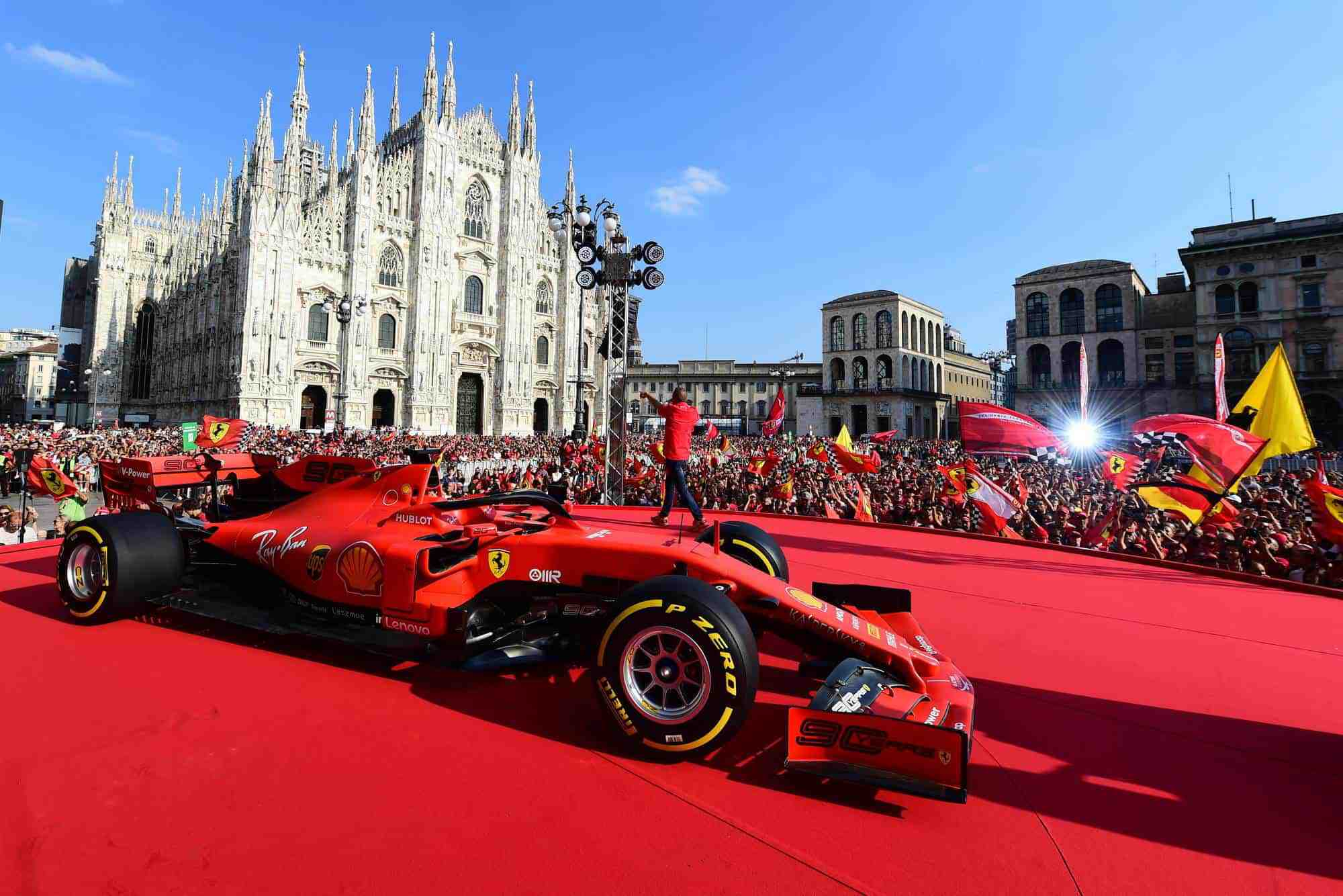 Ferrari 90th Anniversary celebration in Milan 04 September 2019 Ferrari SF90 Photo Ferrari