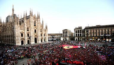 Ferrari 90th Anniversary celebration in Milan 04 September 2019 Photo Ferrari