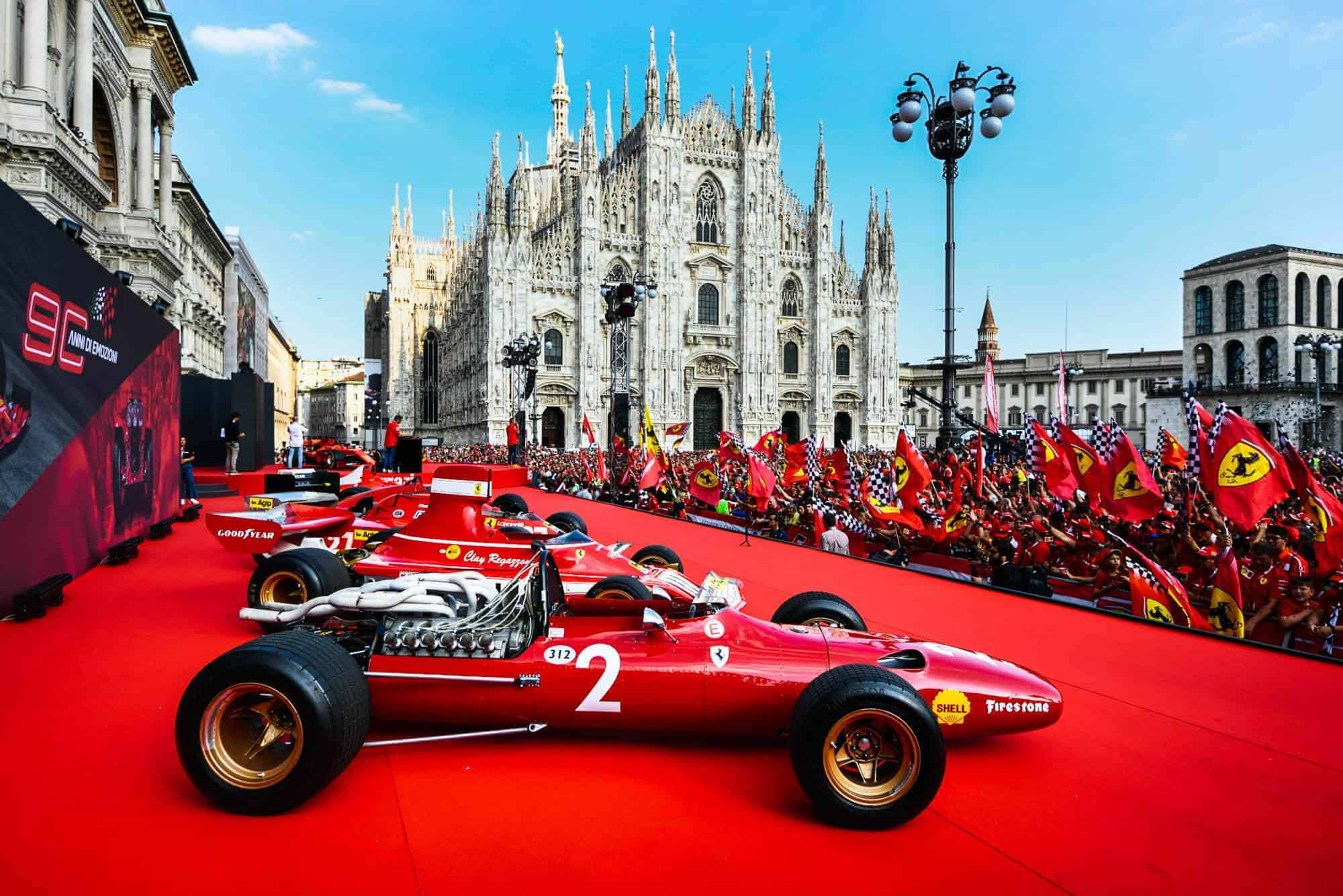 Ferrari 90th Anniversary celebration in Milan 04 September 2019 historic cars Photo Ferrari