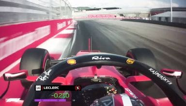 Leclerc pole Russian GP F1 2019 Screenshot F1