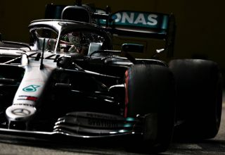 Lewis Hamilton Mercedes F1 W10 Singapore GP F1 2019 Photo Sky F1