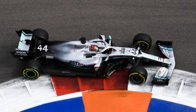 Lewis Hamilton Mercedes Russian GP F1 2019 Friday Photo Daimler