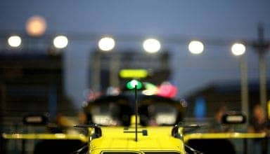 Nico Hulkenberg Renault RS19 Singapore GP nose cone Photo Renault