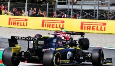 Raikkonen leads Ricciardo Italian GP F1 2019 Photo Renault