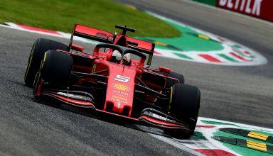 Sebastian Vettel Ferrari SF90 Italian GP F1 2019 Friday Ascari Photo Ferrari