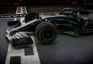 Valtteri Bottas Mercedes F1 W10 Singapore GP F1 2019 Photo Daimler