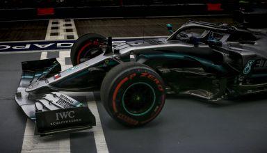Valtteri Bottas Mercedes F1 W10 Singapore GP F1 2019 Photo Daimler