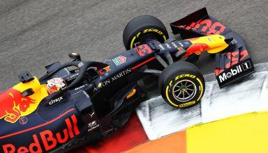 Verstappen Red Bull Russian GP F1 2019 FP1 Photo Red Bull