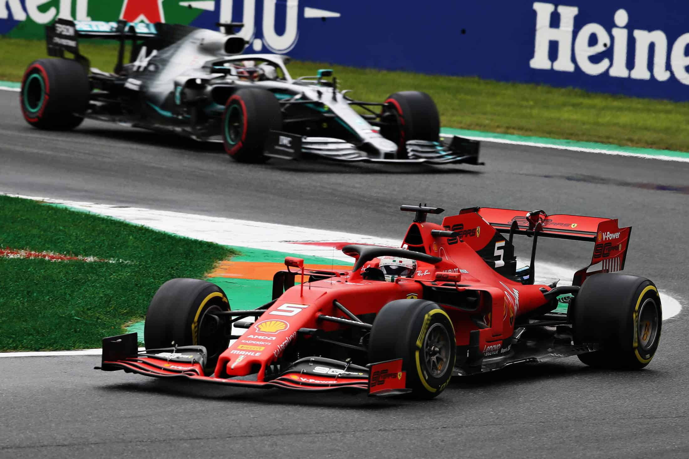 Vettel Hamilton Italian GP F1 2019 Qualifying Photo Sky Sports F1