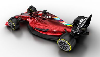 2021 F1 Car released on Oct 31 2019 left rear angle Photo Formula 1