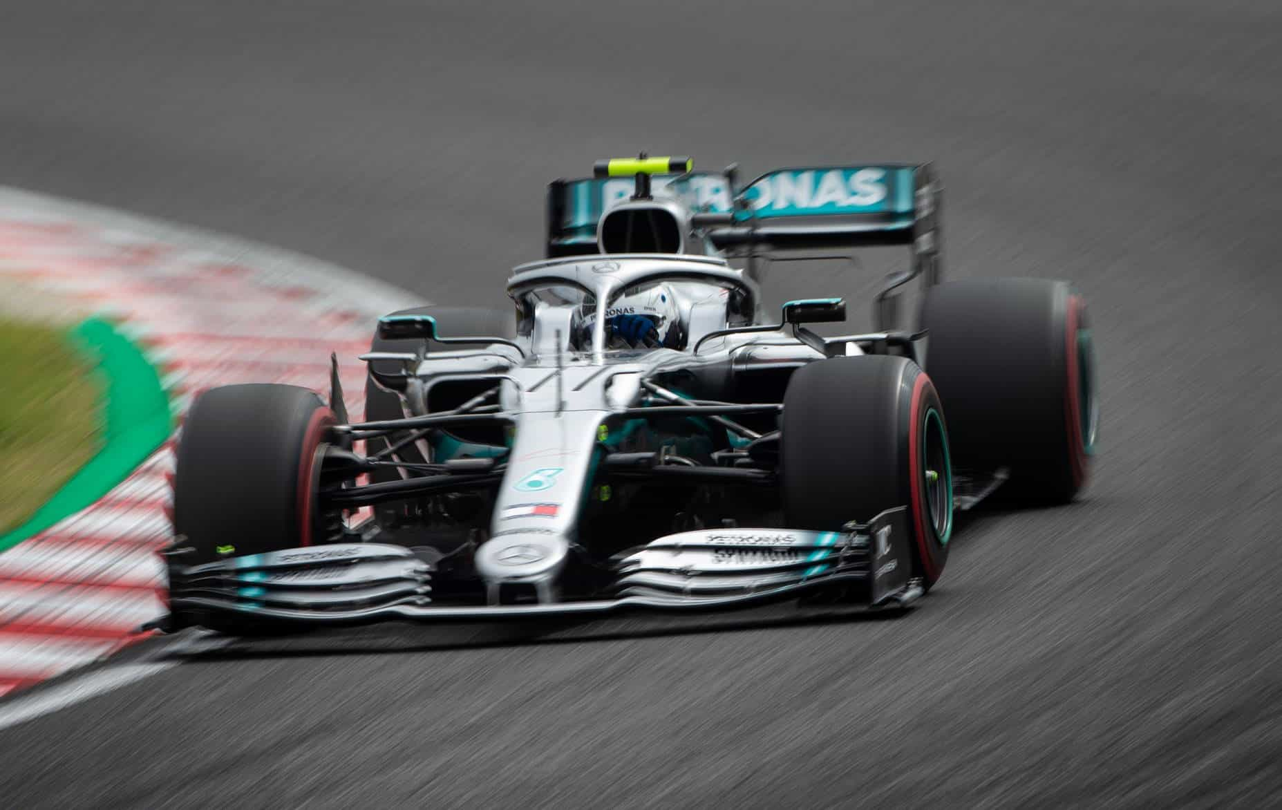 Bottas Mercedes Japanese GP F1 2019 FP1 Photo Daimler