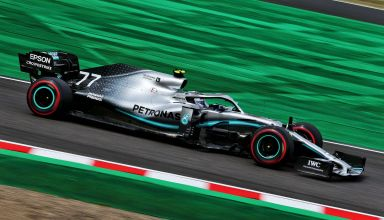 Bottas Mercedes Japanese GP F1 2019 FP2 Photo Daimler