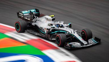 Bottas Mercedes Mexican GP F1 2019 Q Photo Daimler