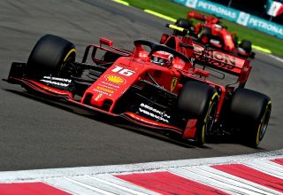 Leclerc Vettel Mexican GP F1 2019 Photo Ferrari