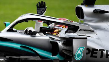 Lewis Hamilton Mexican GP F1 2019 Friday close Photo Daimler