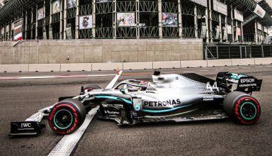 Lewis Hamilton Mexican GP F1 2019 Q Photo Daimler