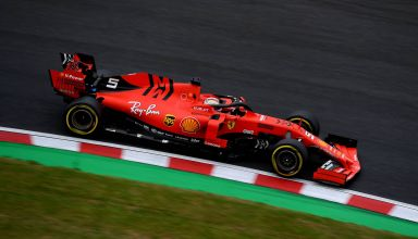 Vettel Ferrari SF90 Japanese GP F1 2019 Photo Ferrari