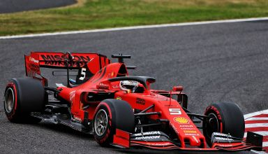 Vettel Ferrari SF90 Japanese GP F1 2019 soft Photo Ferrari