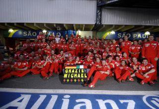 2006 Brazilian GP Grazie Michael Photo Ferrari