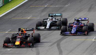 Albon Gasly Hamilton Brazilian GP F1 2019 Photo Red Bull