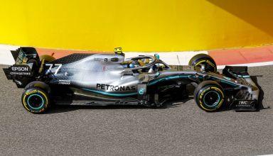 Bottas Mercedes Abu Dhabi GP F1 2019 pitlane exit Photo Daimler