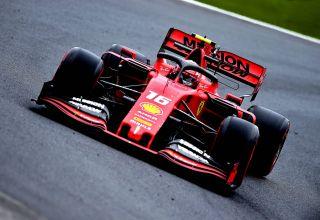 Charles Leclerc Ferrari Brazilian GP F1 2019 FP2 soft Pirelli Photo Ferrari