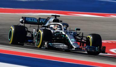 Hamilton Mercedes USA GP Austin F1 2019 Photo Daimler