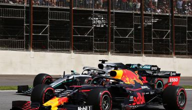 Hamilton Verstappen F1 2019 Brazilian GP duel Photo Red Bull