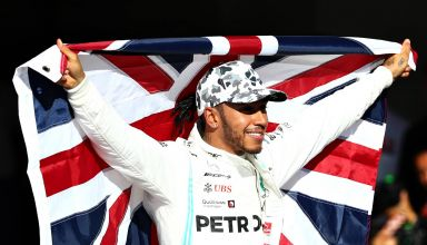 Hamilton wins sixth title Austin USA GP F1 2019 Photo Sky Sports F1