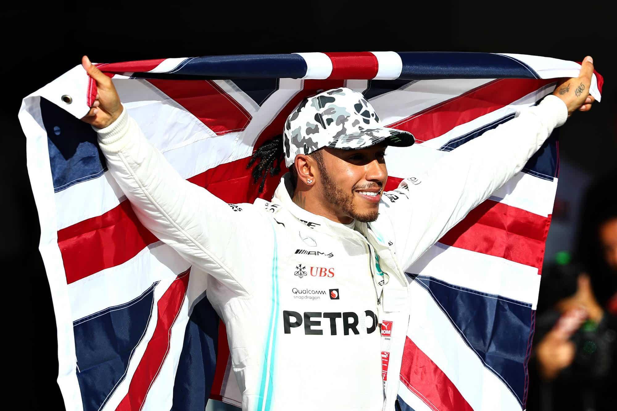 Hamilton wins sixth title Austin USA GP F1 2019 Photo Sky Sports F1