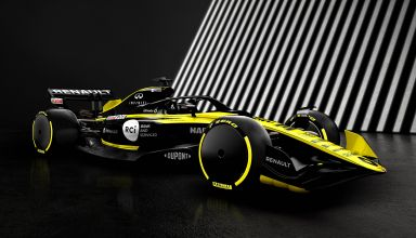 Renault F1 2021 render F1 Concept October 31st front right view Photo Renault Twitter