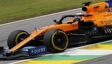 Sainz McLaren Brazilian GP F1 2019 close Photo McLaren