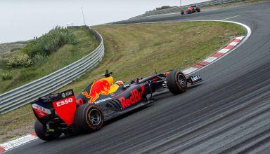 Verstappen Red Bull Racing Show Zandvoort Photo Red Bull
