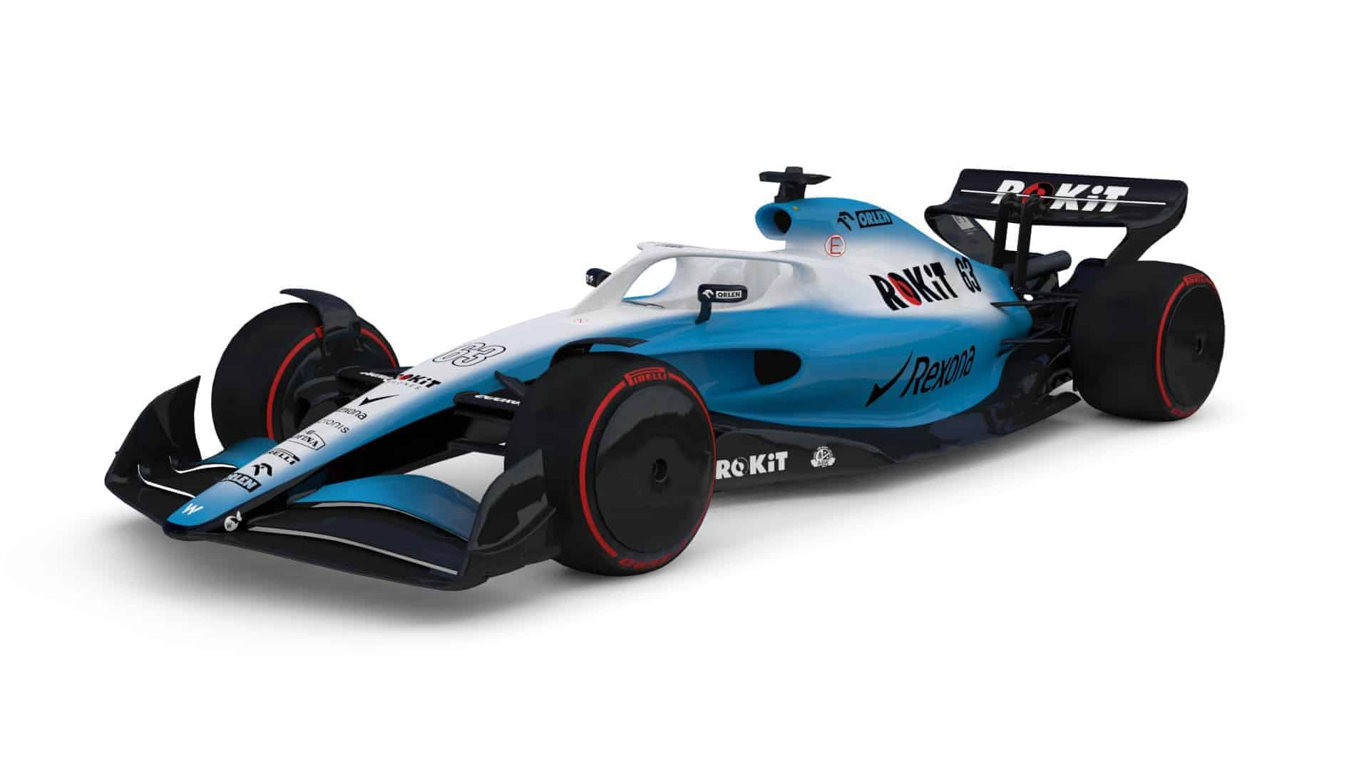 Williams F1 2021 render F1 Concept October 31st Photo Williams Twitter