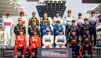 2019 Abu Dhabi GP all drivers photo on the grid Photo Red Bull