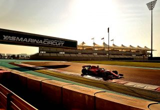 Charles Leclerc Abu Dhabi F1 2019 test Pirelli Photo Ferrari