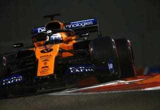 Sainz McLaren Abu Dhabi GP F1 2019 Photo McLaren
