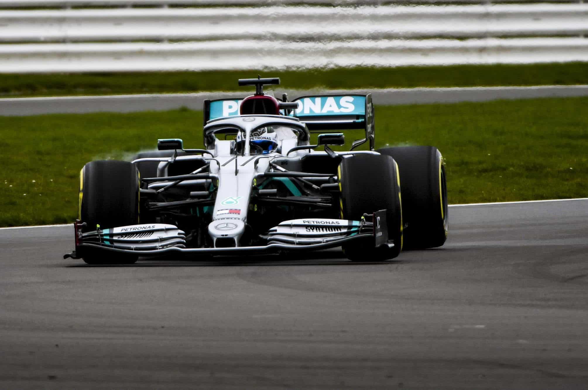 2020 F1 Mercedes F1 W11 first shakedown Silverstone Hamilton 2000px Photo Daimler