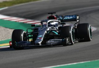 Bottas Mercedes F1 W11 Barcelona Test 1 Day 2 Photo Daimler