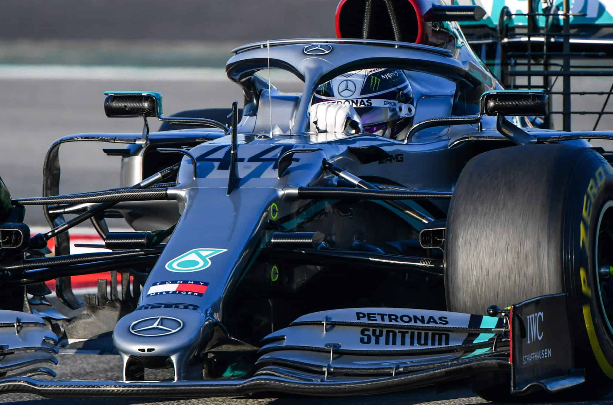 Bottas Mercedes F1 W11 Barcelona Test 1 Day 2 Photo Daimler