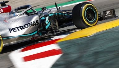 Bottas Mercedes F1 W11 Barcelona Test 1 Day 3 Photo Daimler