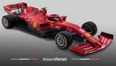 Ferrari F1 SF1000 2020 car studio photo Photo Ferrari