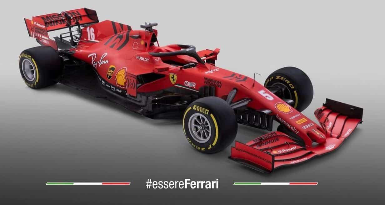 Ferrari Presents Their New 2020 F1 Car Sf1000