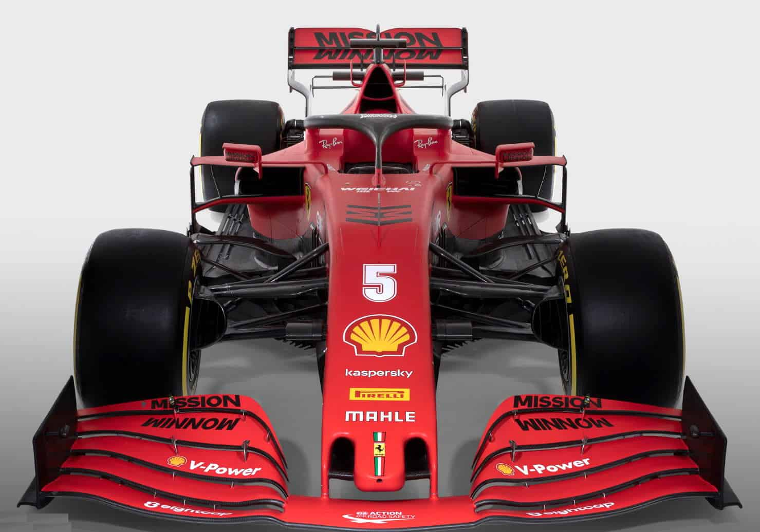 Ferrari F1 SF1000 2020 car studio photo front Photo Ferrari
