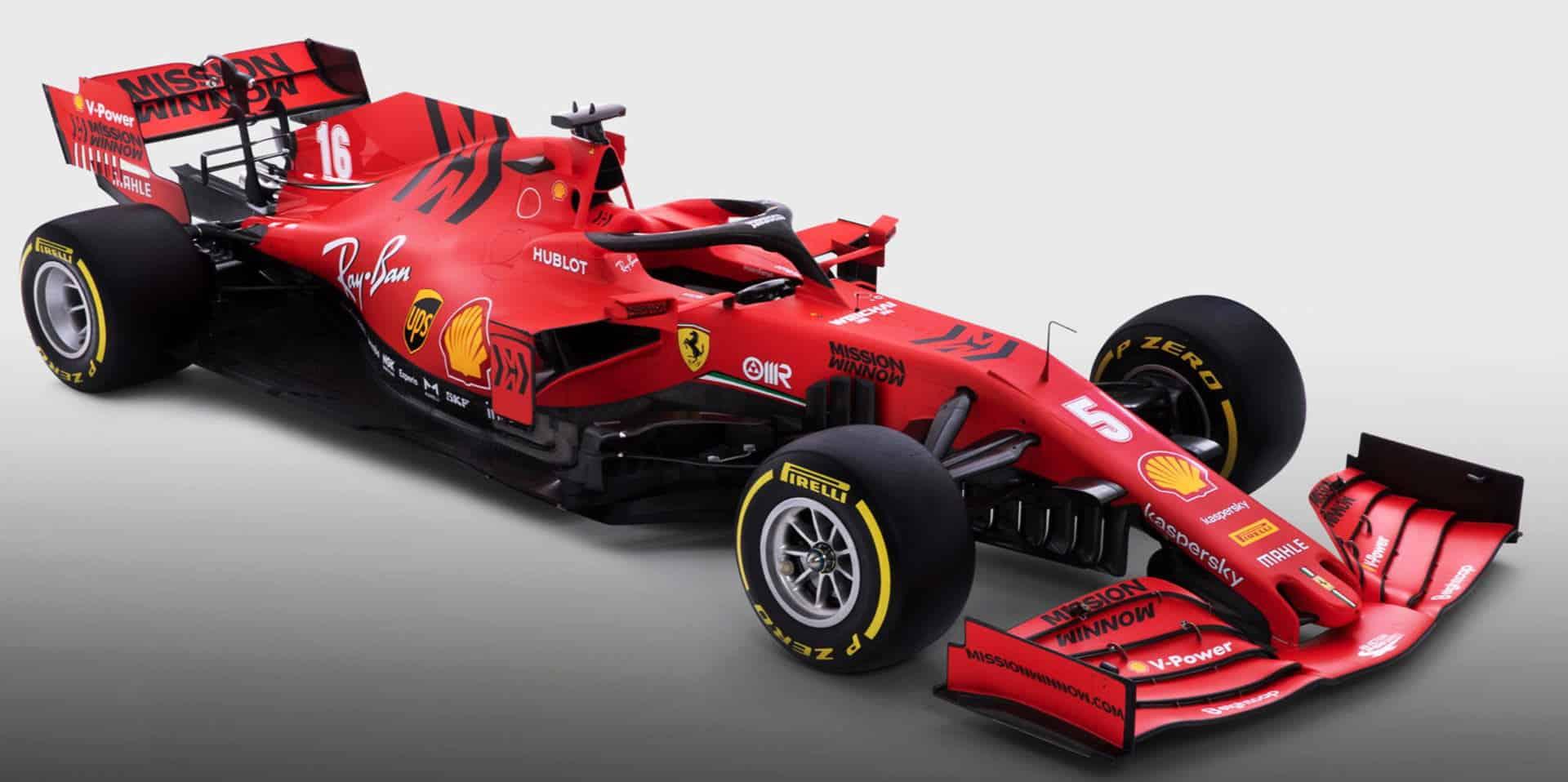 Ferrari F1 SF1000 2020 car studio photo side angle Photo Ferrari